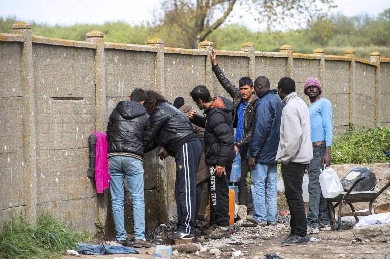 Obóz dla imigrantów, zdj. ilustracyjne /AFP