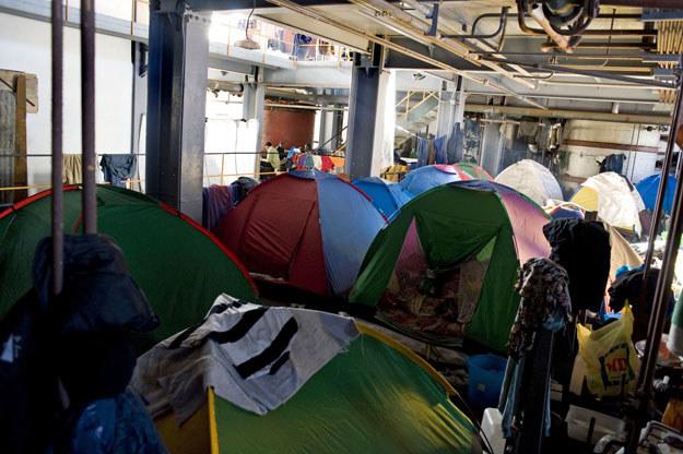 Obóz dla migrantów i pracowników sezonowych w Rosarno /Antonello Nusca /East News