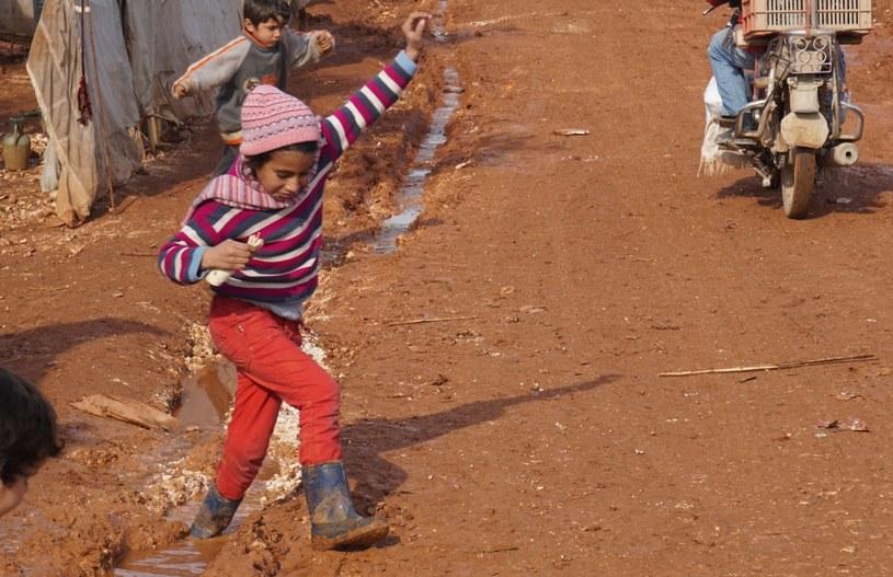 Obóz dla syryjskich uchodźców, fot. PAH /