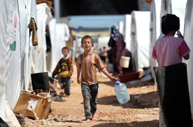 Obóz dla syryjskich uchodźców /AFP