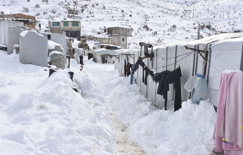 Obóz dla uchodźców, Arsal 2020 /Jihad Muhammad Behlok/Anadolu Agency /Getty Images