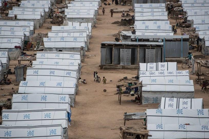 Obóz dla uchodźców uciekających przed Boko Haram /AFP