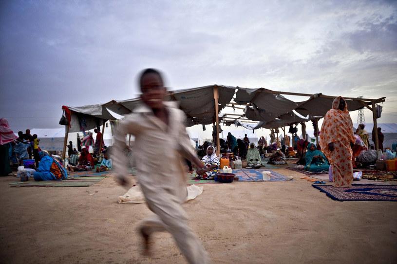 Obóz dla uchodźców w Czadzie /Sebnem Coskun/Anadolu Agency/ /Getty Images