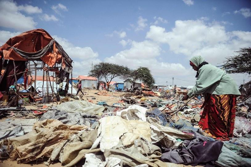 Obóz dla uchodźców w Somalii /Mohamed Abdiwahab /East News