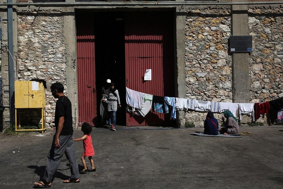 Obóz dla uchodzćów. Zdj. ilustracyjne /ORESTIS PANAGIOTOU /PAP/EPA