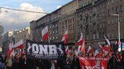 Obóz Narodowo-Radykalny na ulicach Warszawy