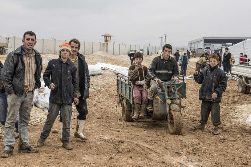 Obóz uchodźców syryjskich /Slawomir Kowalewski   /Agencja FORUM