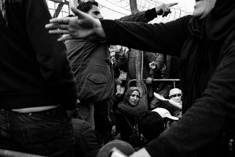 Obóz uchodźców w Idomeni na granicy grecko-macedońskiej, do którego przybywają tysiące imigrantów. Idomeni (Grecja), 6 marca 2016 r. /SZYMON BARYLSKI, FREELANCER /