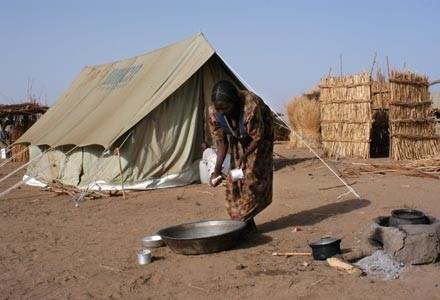 Obóz uchodźców w Ugandzie /materiały prasowe