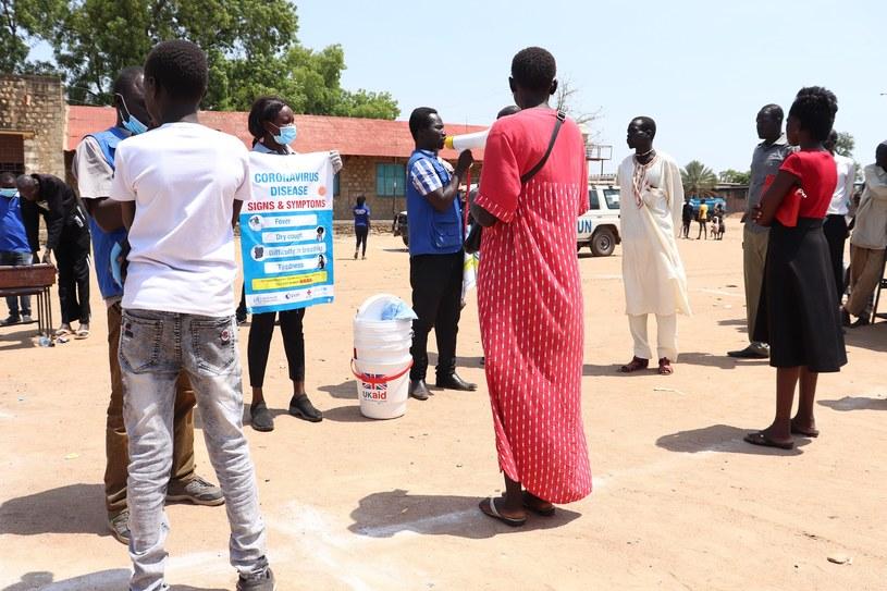 Obóz w Afryce Wschodniej podcasz pandemi COVID19 /źródło: PAH /