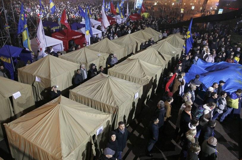Obóz zwolenników UE /PAP/EPA