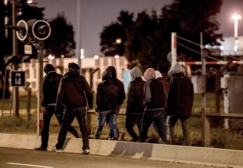 Obozowisko w Calais, zdj. ilustracyjne /PHILIPPE HUGUEN /AFP