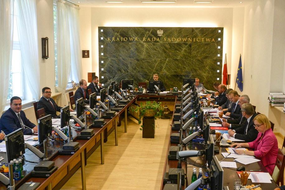 Obrady Krajowej Rady Sądownictwa / Jakub Kamiński    /PAP