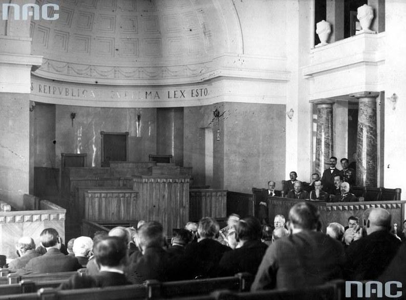 Obrady przedwojennego Senatu /Z archiwum Narodowego Archiwum Cyfrowego