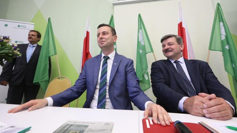 Obrady Rady Naczelnej PSL, Władysław Kosiniak-Kamysz, Jarosław Kalinowski /Fot Tomasz Jastrzebowski /Reporter