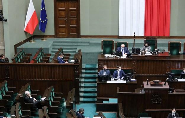 Obrady Sejmu / Leszek Szymański    /PAP