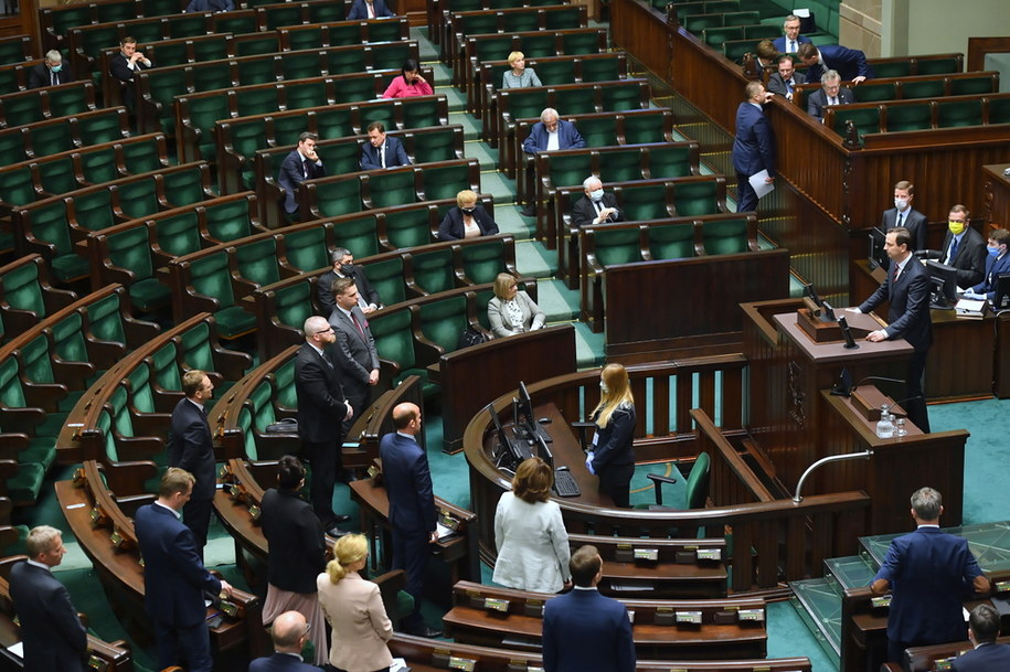 Obrady Sejmu / Radek Pietruszka   /PAP