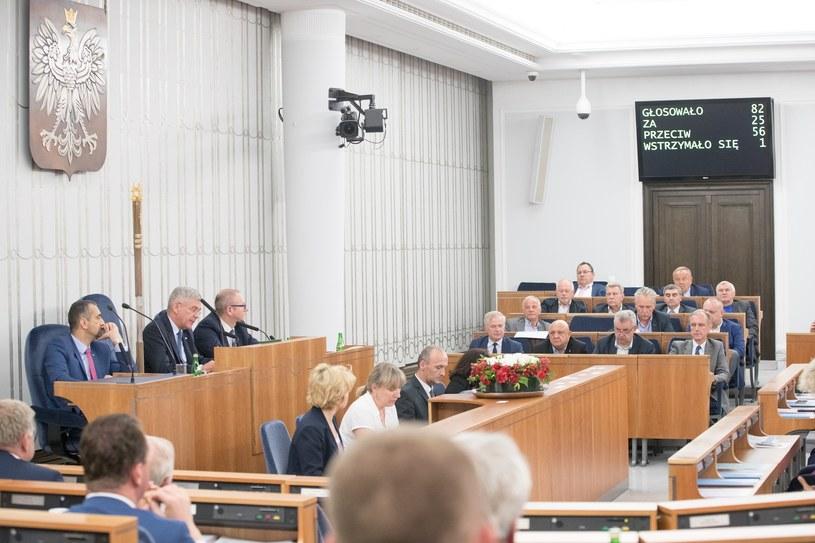 Obrady Senatu, zdjęcie ilustracyjne /fot. Andrzej Iwanczuk/REPORTER /Reporter