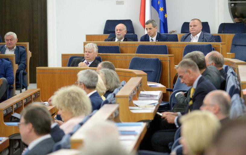 Obrady Senatu /Marcin Obara /PAP