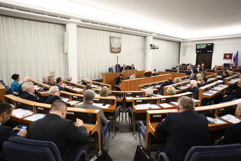 Obrady Senatu /Leszek Szymański /PAP