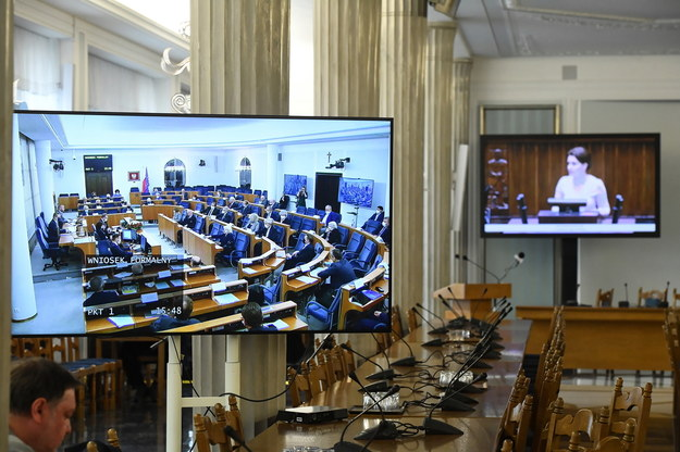 Obrady Senatu / Radek Pietruszka   /PAP