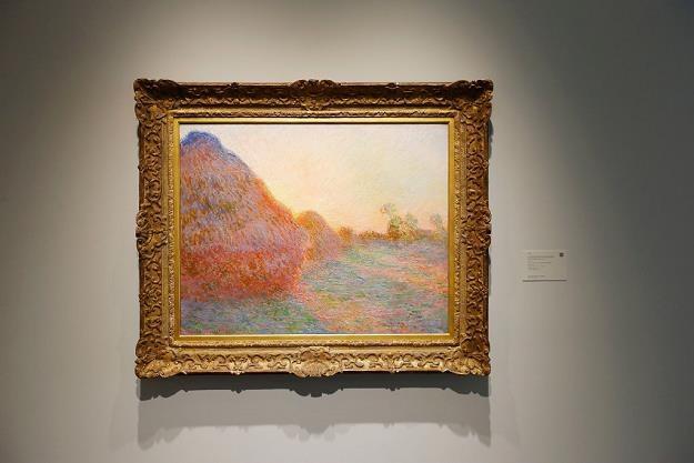 Obraz Claude'a Moneta z cyklu Stogi. Fot. John Lamparski /Getty Images/Flash Press Media