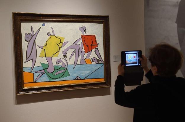 """Obraz """"Le Sauvetage"""" Picassa został sprzedany w 2014 roku za 28 mln dolarów /AFP"""