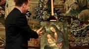 """Obraz """"Madonna pod jodłami"""" Lucasa Cranacha starszego powrócił do Polski"""