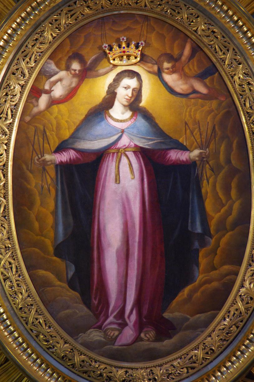 Obraz Matki Boskiej Łaskawej w kościele jezuitów przy Świętojańskiej w Warszawie /Marek Bazak /East News