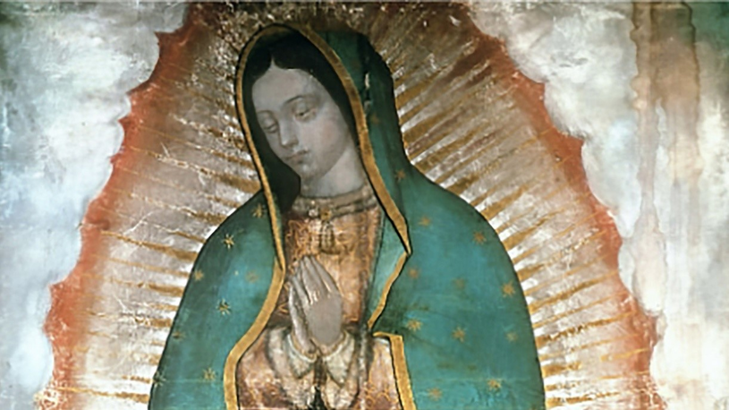Obraz Matki Bożej z Guadalupe /East News