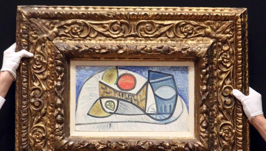 Obraz Picasso /MATTEO BAZZI    /PAP/EPA