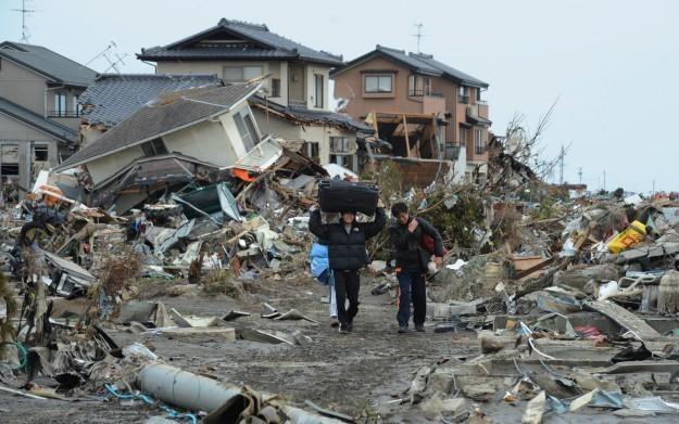 Obraz po kataklizmie, jaki tydzień temu nawiedził Japonię /AFP