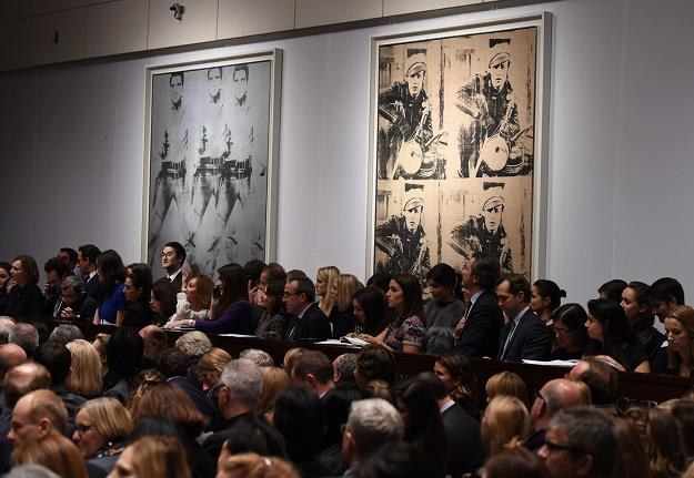 "Obraz ""Triple Elvis"" Andy'ego Warhola (po lewej) /AFP"
