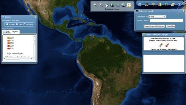 Obraz z Terra-i.   Fot. maps.terra-i.org/ /materiały prasowe