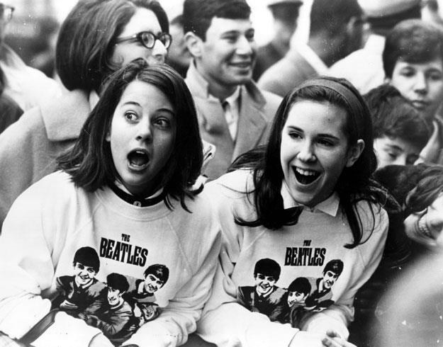 "Obrazek z epoki: Tak działa ""beatlemania""! fot. Keystone /Getty Images/Flash Press Media"