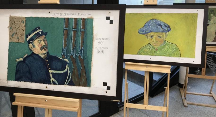 Obrazy prezentowane na wystawie /Bartłomiej Paulus /RMF FM