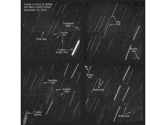 Obrazy z 18 grudnia wykonane przez HST. /NASA
