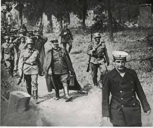 Polska załoga Westerplatte po kapitulacji