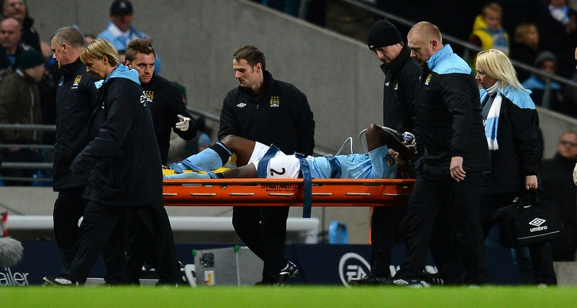 Obrońca Manchesteru City Micah Richards /AFP