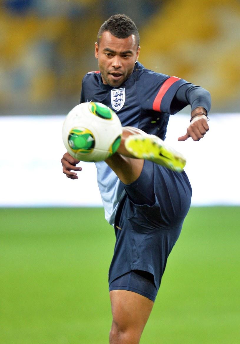 Obrońca piłkarskiej reprezentacji Anglii Ashley Cole /AFP