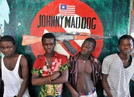 """Obsada filmu """"Johnny Mad Dog"""", 29 listopada 2008 /AFP"""