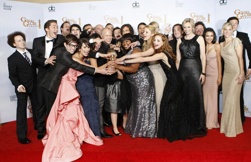 "Obsada ""Glee"" /Brian van der Brug /East News"