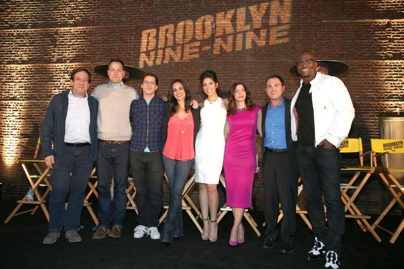 """Obsada serialu """"Brooklyn 9-9"""". /Mark Davis /Getty Images"""