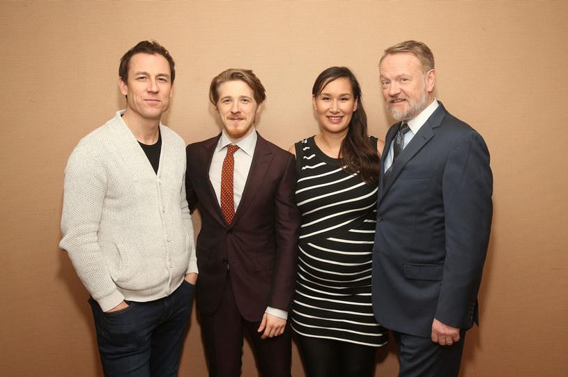 "Obsada serialu ""Terror"": Tobias Menzies, Adam Nagaitis, Nive Nielsen, Jared Harris /Jesse Grant /Getty Images"