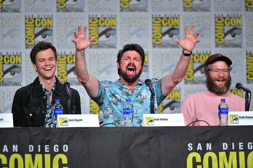 "Obsada serialu ""The Boys"" na Comic Con 2019 /Amy Sussman /Getty Images"