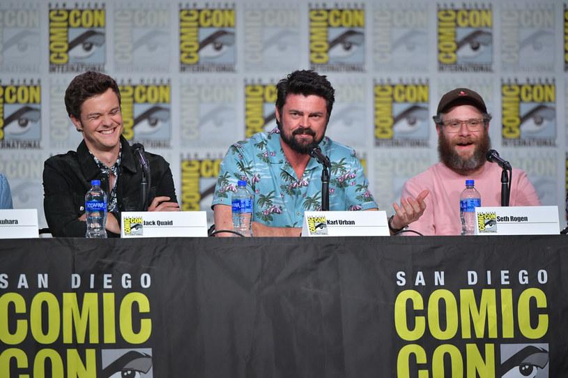 """Obsada serialu """"The Boys"""" na San Diego Comic Con /Amy Sussman /Getty Images"""