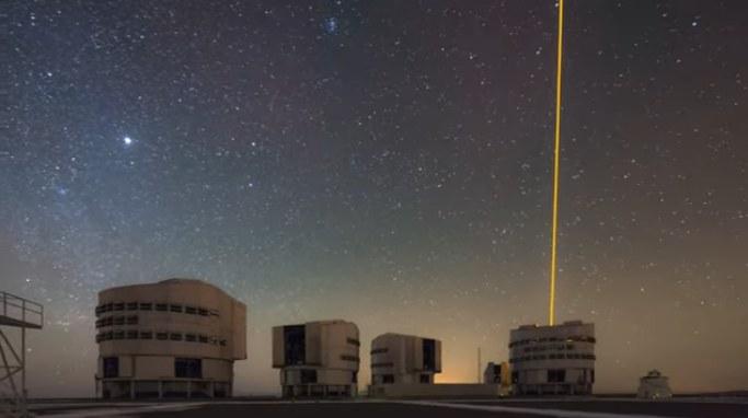 Obserwacji dokonano przy pomocy teleskopu VLT należącego do Europejskiego Obserwatorium Południowego (ESO). /ESO /YouTube