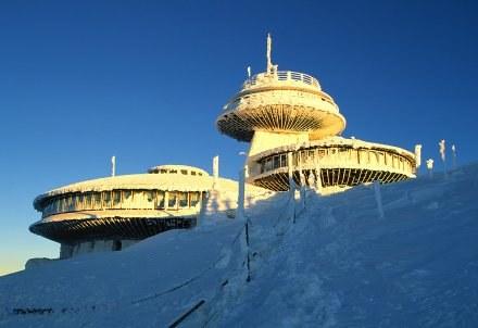 Obserwatorium na Śnieżce ewakuowano po tąpnięciu/ fot.M. Maruszak /Agencja FORUM