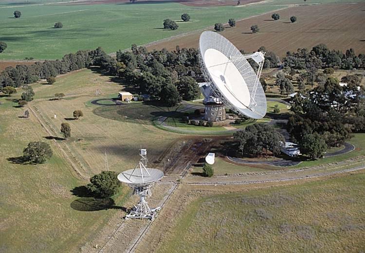 Obserwatorium Parkes - tu odebrano pierwszy sygnał FRB. Źródło: Commonwealth Scientific and Industrial Research Organisation /Kosmonauta