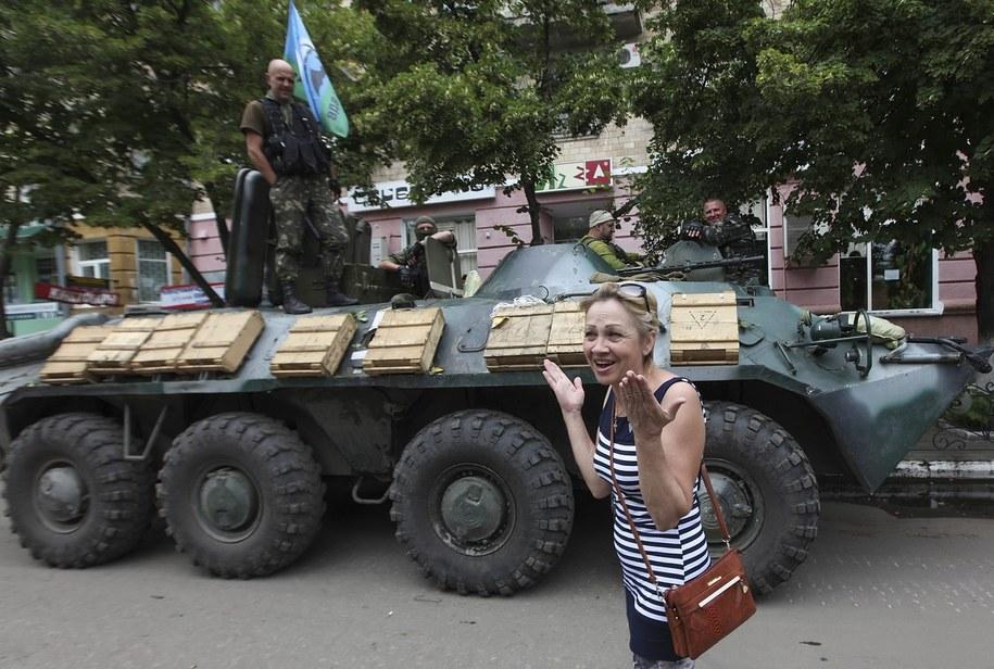 Obserwatorzy OBWE udadzą się w środę na granicę rosyjsko-ukraińską. Zdjęcie ilustracyjne /SERGEY KOZLOV /PAP/EPA